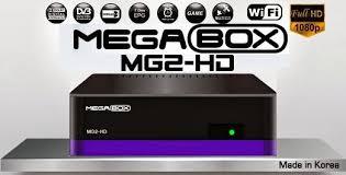 Atualizacao do receptor Megabox MG2 HD V241