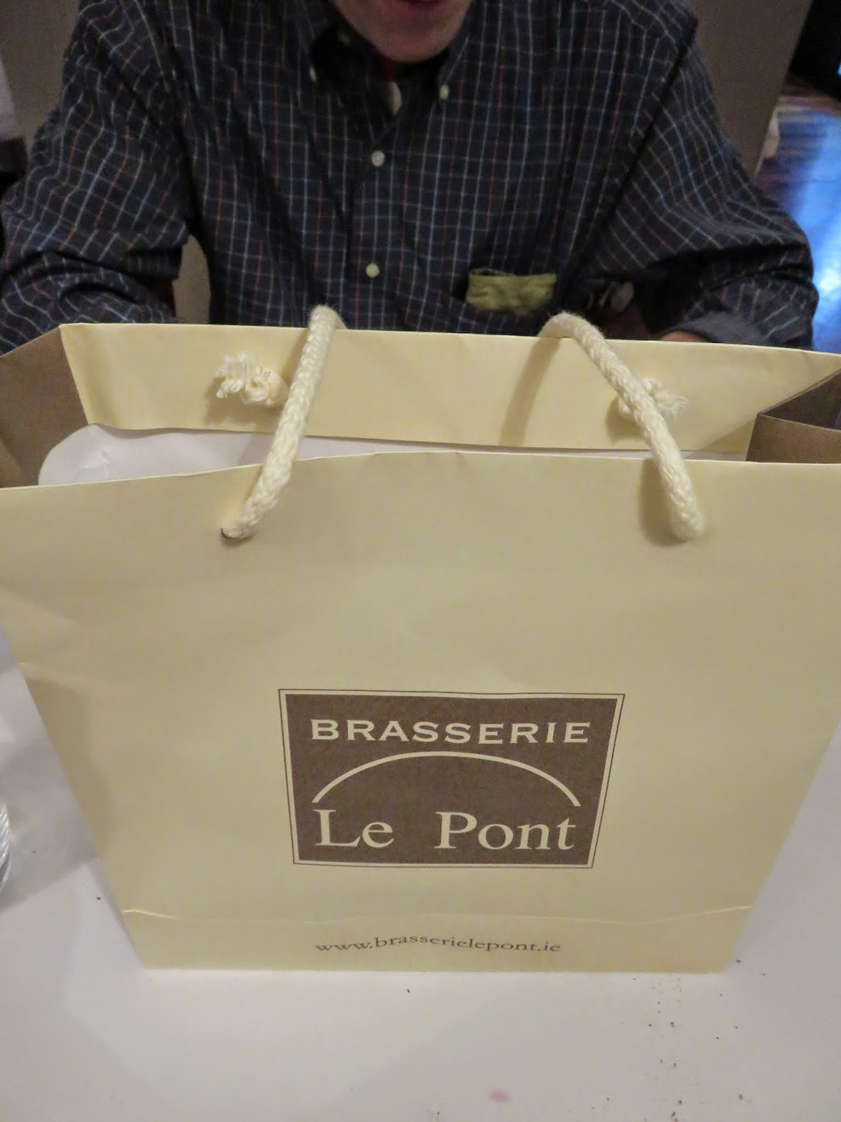 Brasserie Le Pont gift bag