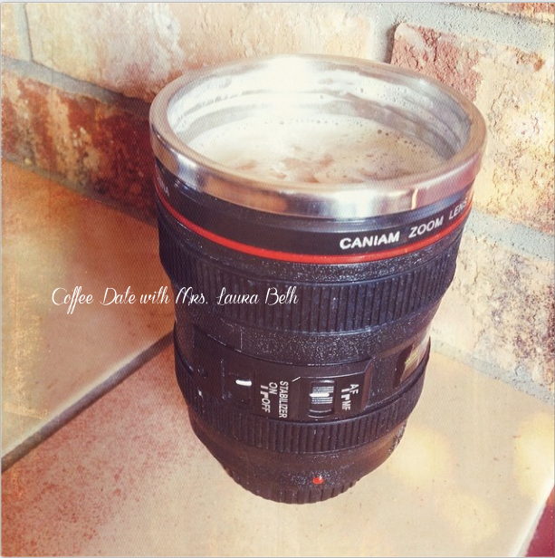 Lens Cup, coffee, photography