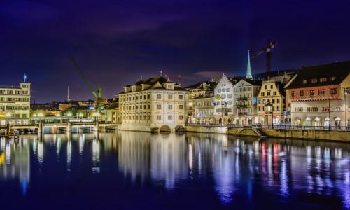Zurich Switzerland HD Wallpaper
