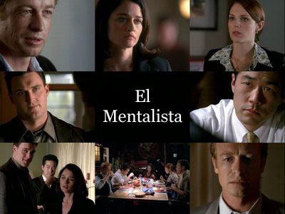 Varias imagenes de cada uno de los protagonistas de la serie, El Mentalista.