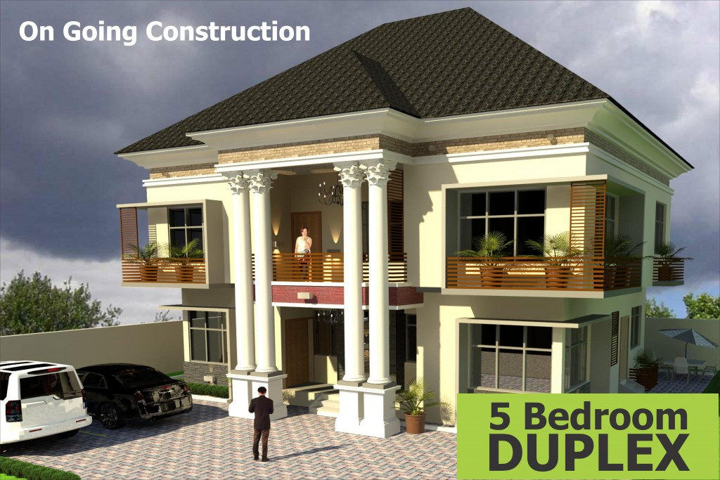 What type of housing concept is adron homes and properties for Types of houses in nigeria