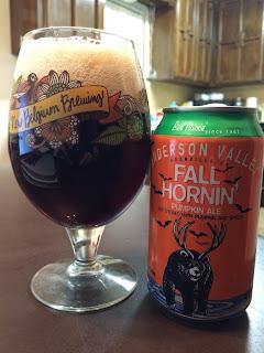 Anderson Valley Fall Hornin Pumpkin Ale 1