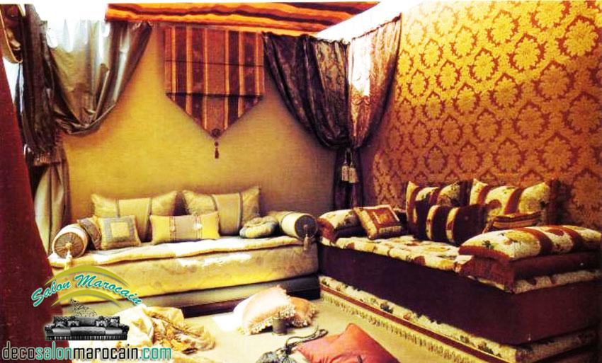 salon marocain haute qualit - Decoration Salon Marocain