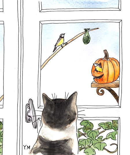 Happy Halloween by Yukié Matsushita