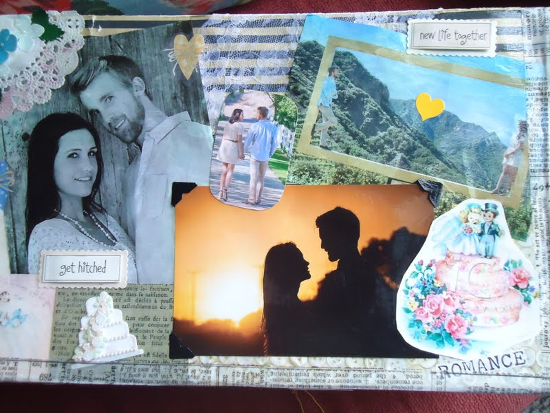 Find a box that is sturdy and large enough to hold most pictures and cards