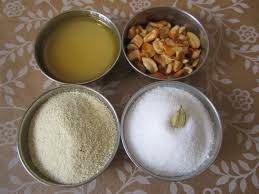 ravva laddu ingredients
