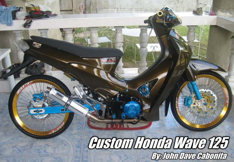 wave 125 modified