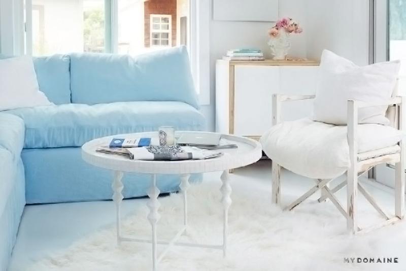 Arredare piccoli spazi la mobilhome shabby chic di rachel for Arredare piccoli spazi soggiorno