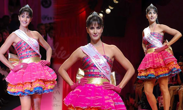 Bollywood actress Katrina Kaif as Barbie Doll