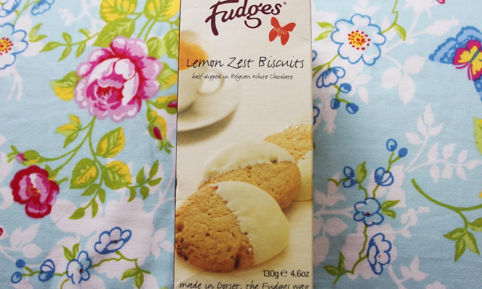 Fudges Bakery Lemon Zest Biscuits