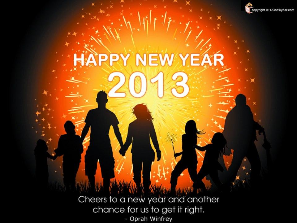 Selamat Tahun Baru 2013,Tekadkan Azam Baru Untuk Berubah