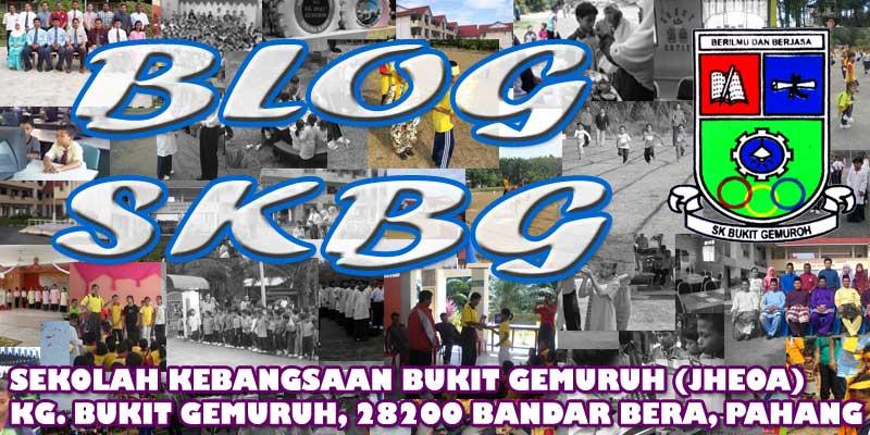 Blog SK Bukit Gemuruh (JHEOA)