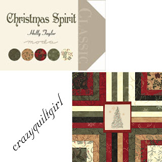 Moda CHRISTMAS SPIRIT Quilt Fabric by Holly Taylor