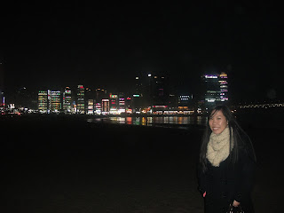 Skyline in Busan, South Korea