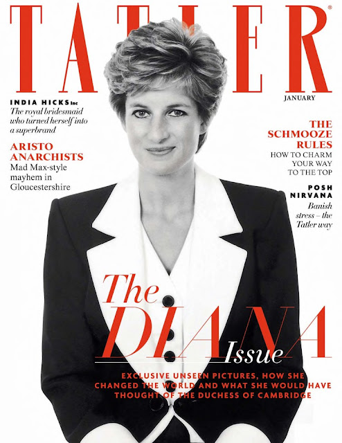 Diana Frances Spencer - Tatler UK, January 2016