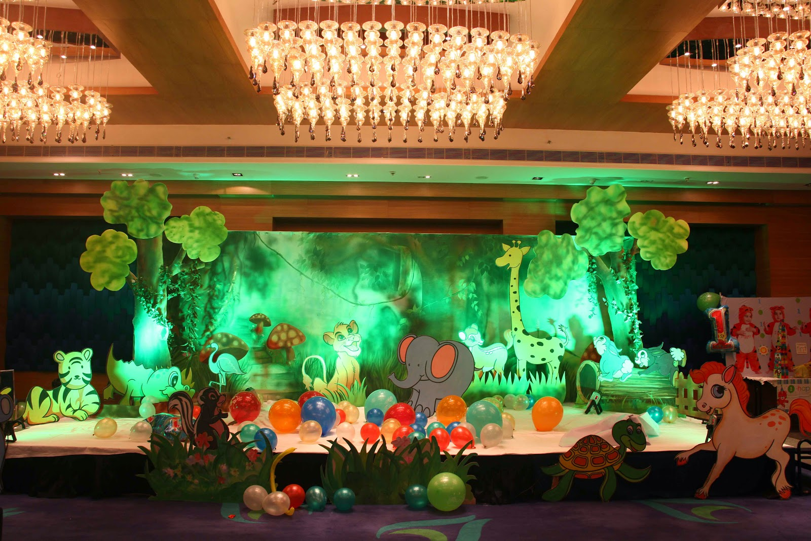 Birthday party decorations in hyderabad march 2015 for Balloon decoration for birthday party in hyderabad