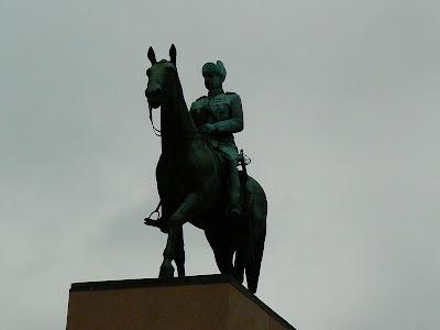 Imagini Finlanda: statuia lui Mannerheim Helsinki