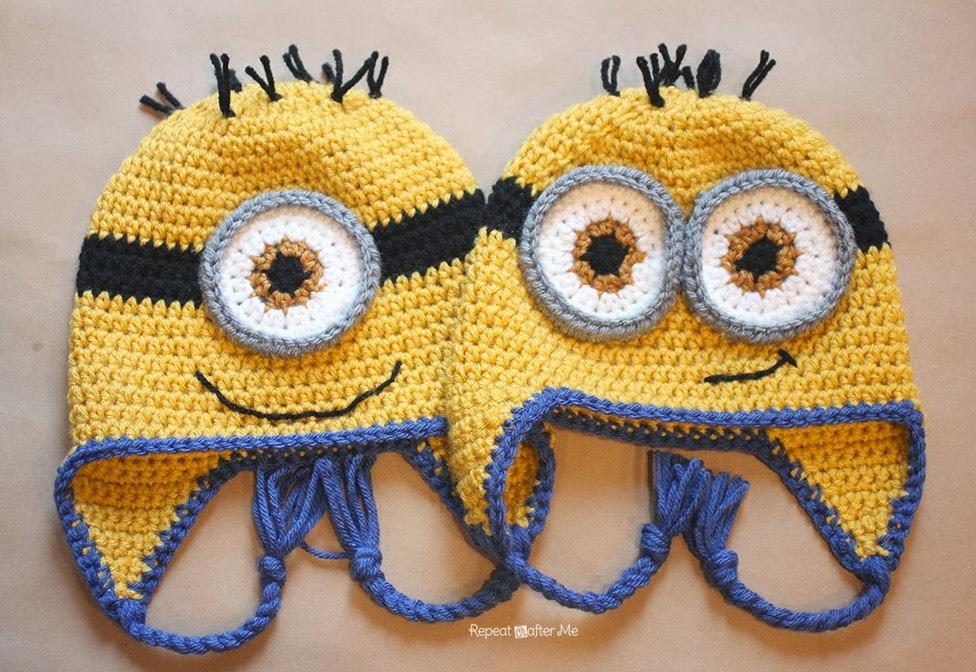 Magnífico Los Patrones De Crochet Libre Para Sombreros Animales Bebé ...