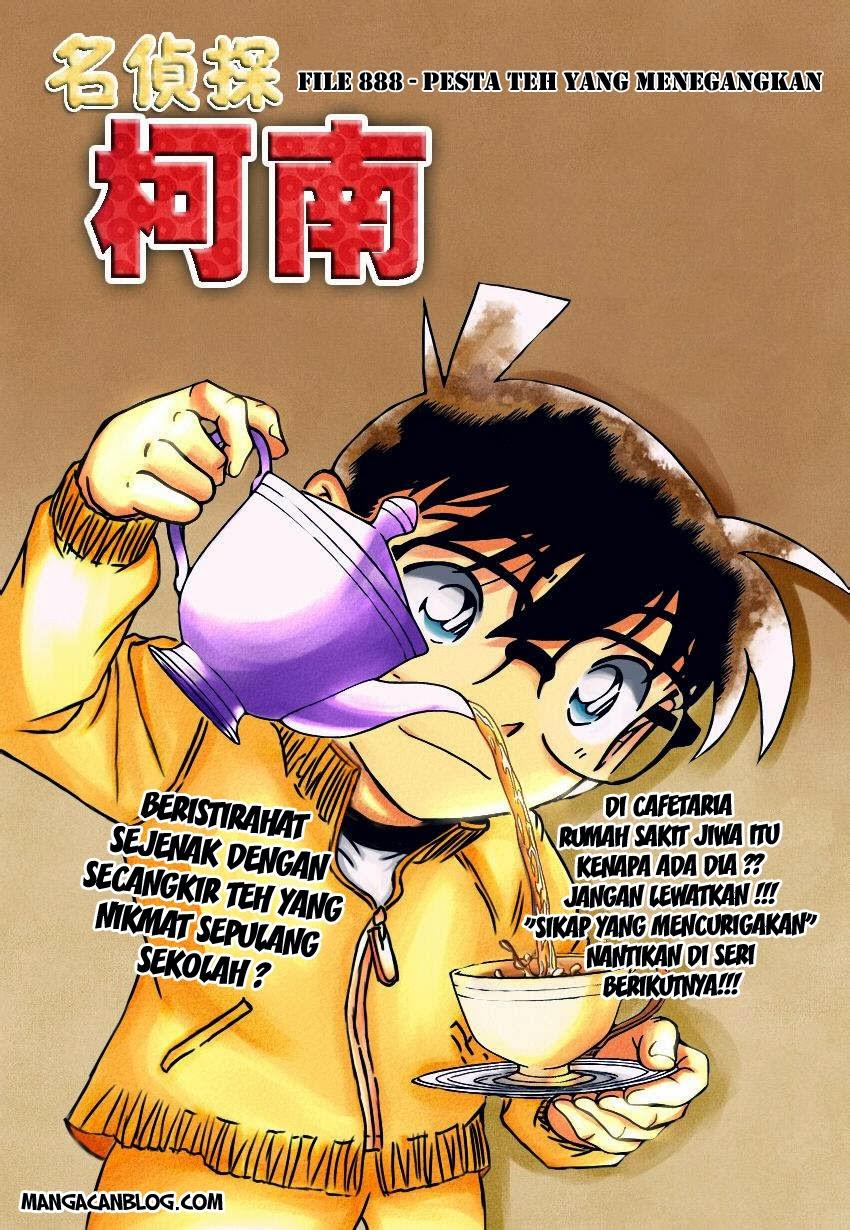 Dilarang COPAS - situs resmi www.mangacanblog.com - Komik detective conan 888 - pesta teh yang menegangkan 889 Indonesia detective conan 888 - pesta teh yang menegangkan Terbaru |Baca Manga Komik Indonesia|Mangacan