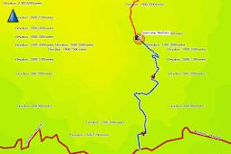 Tracklog GPS Basecamp Merbabu Selo