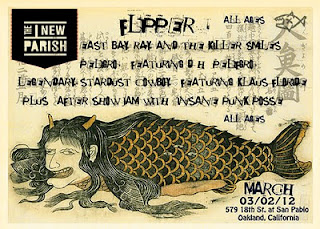 Flipper (the band): Resurfaces in 2012 and Announces SXSW Show(s) and Upcoming European Tour