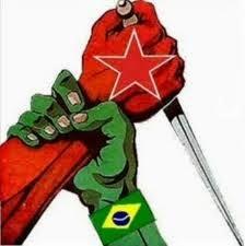 Minha bandeira jamais será vermelha!