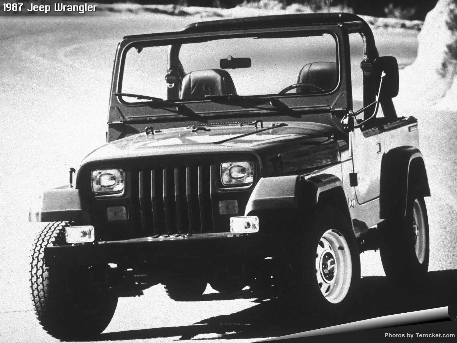 Hình ảnh xe ô tô Jeep Wrangler 1987 & nội ngoại thất