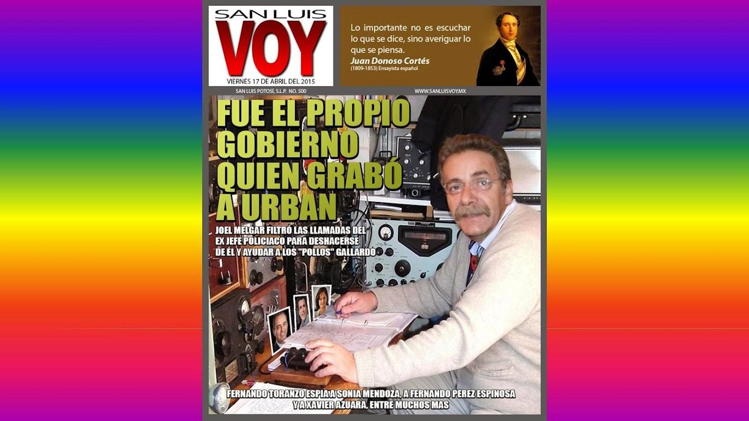ESCALATA TORANZO, EL ESPIONAJE TELEFÓNICO EN EL C4.......
