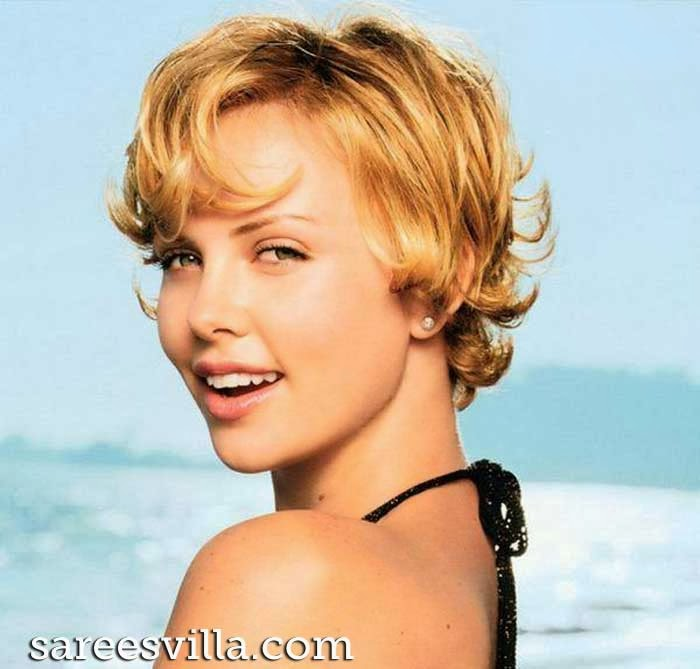 South African and American actress Charlize Theron