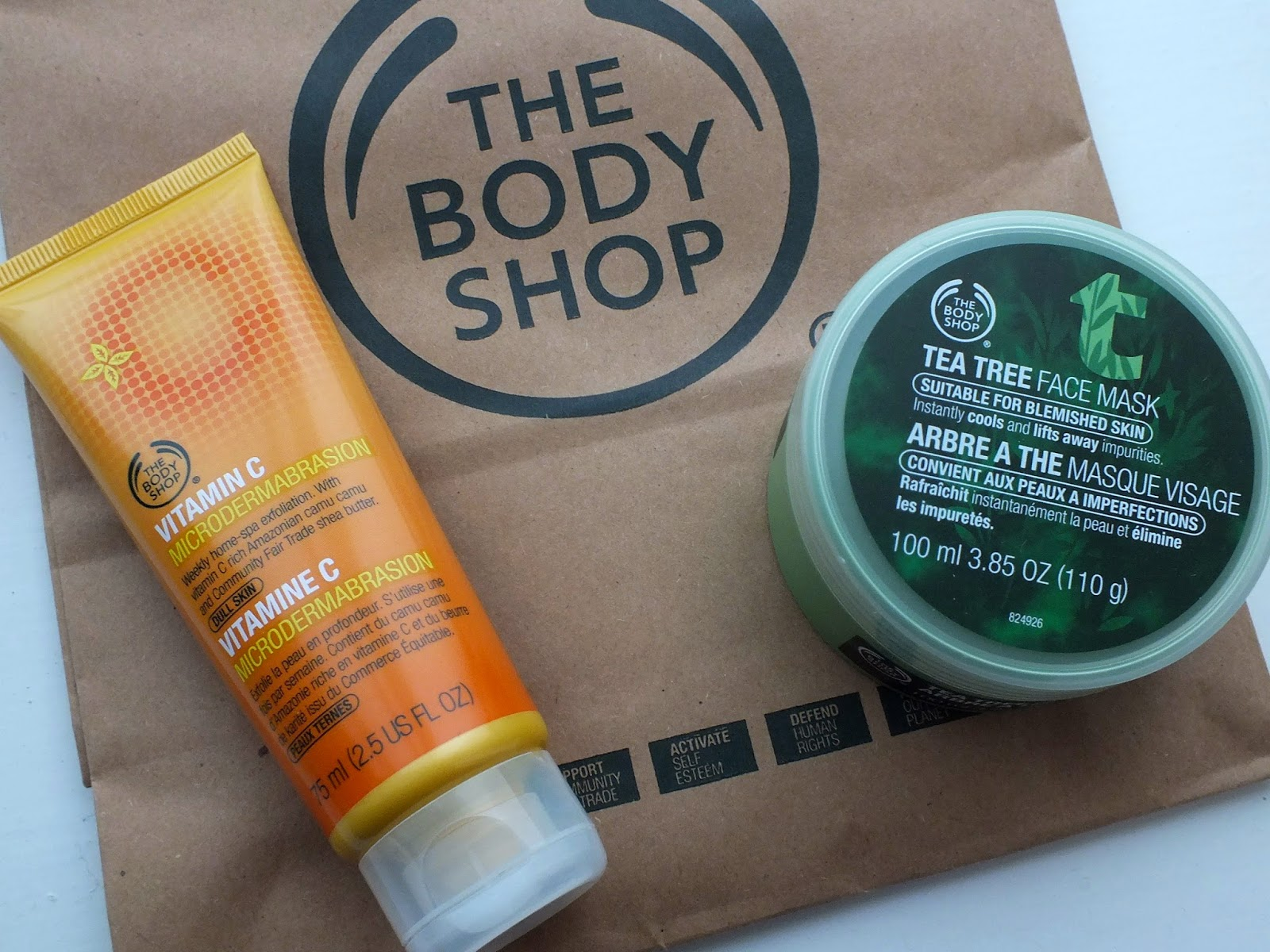 The Body Shop Online Only Vitamin E Sink-In Moisture Mask ...