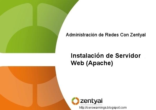 Zentyal-Instalacion-de-Servidor-Web-Apache