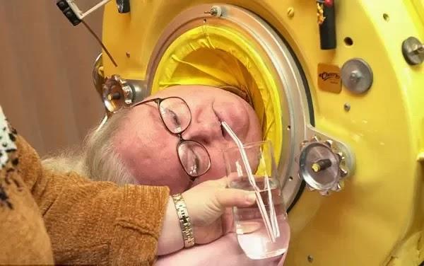 61 tahun guna 'paru-paru' besi