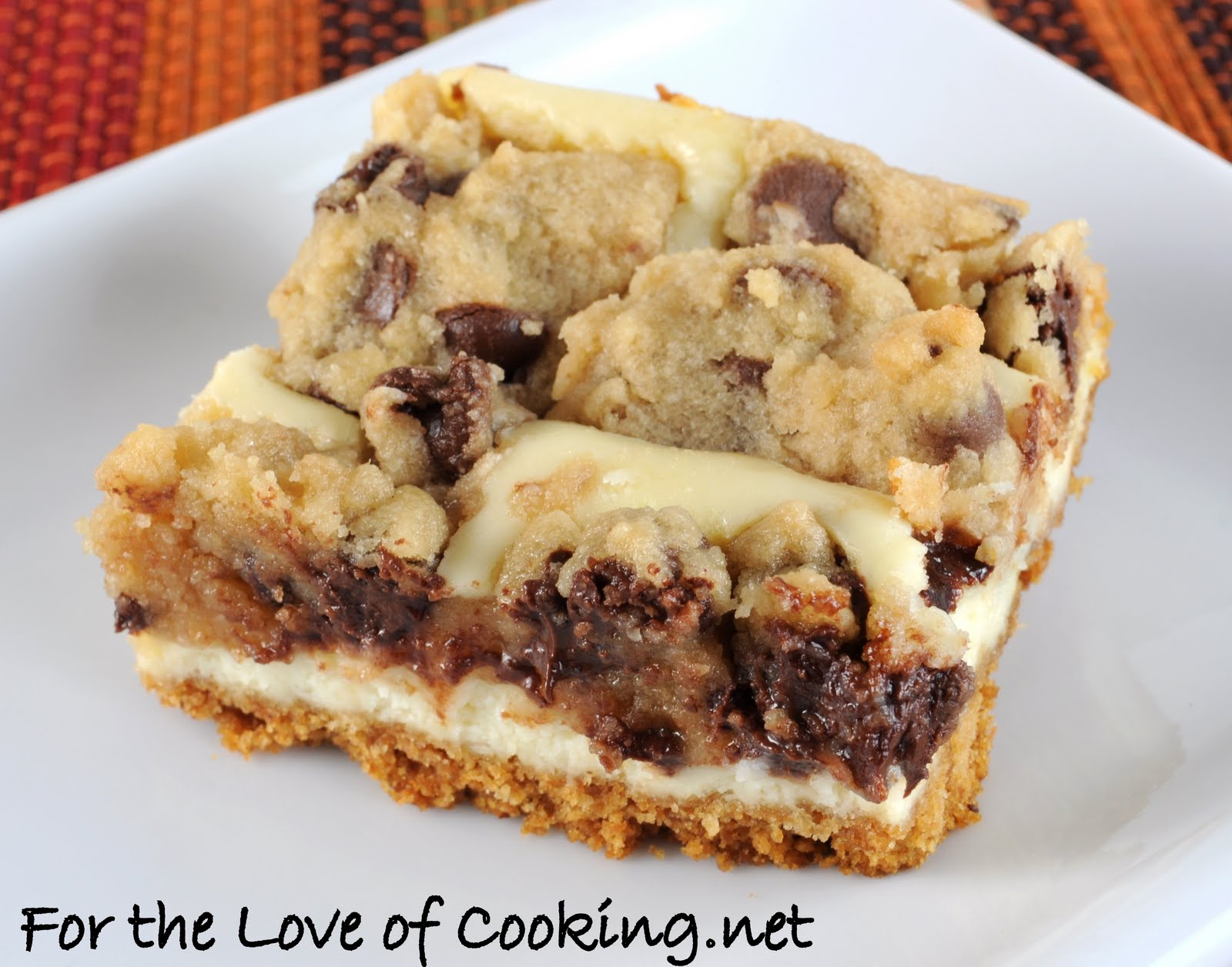 Chocolate Chip Cookie Dough Cheesecake Recipe — Dishmaps