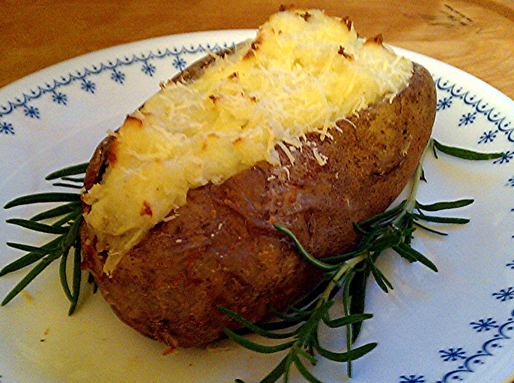 twice baked potatoes an easy and versatile dish made from a baked ...