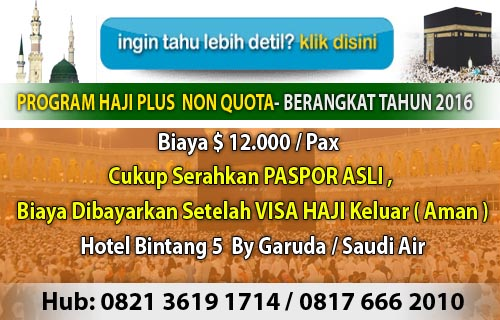 Travel haji Aufa