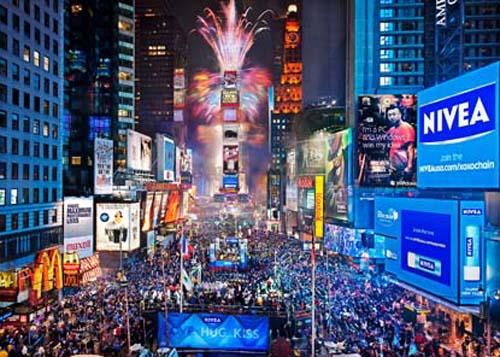 Ver año nuevo 2012 en vivo times square new york