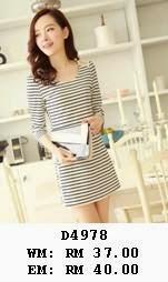 http://www.koreanstyleonline.com/2014/10/d4978-fashion-stripes-dress.html