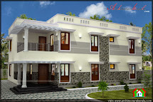 Five Bedroom House Plan And Elevation - Architecture