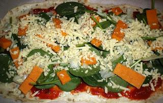 pizza-espinacas-comosinoexistieraelmañana