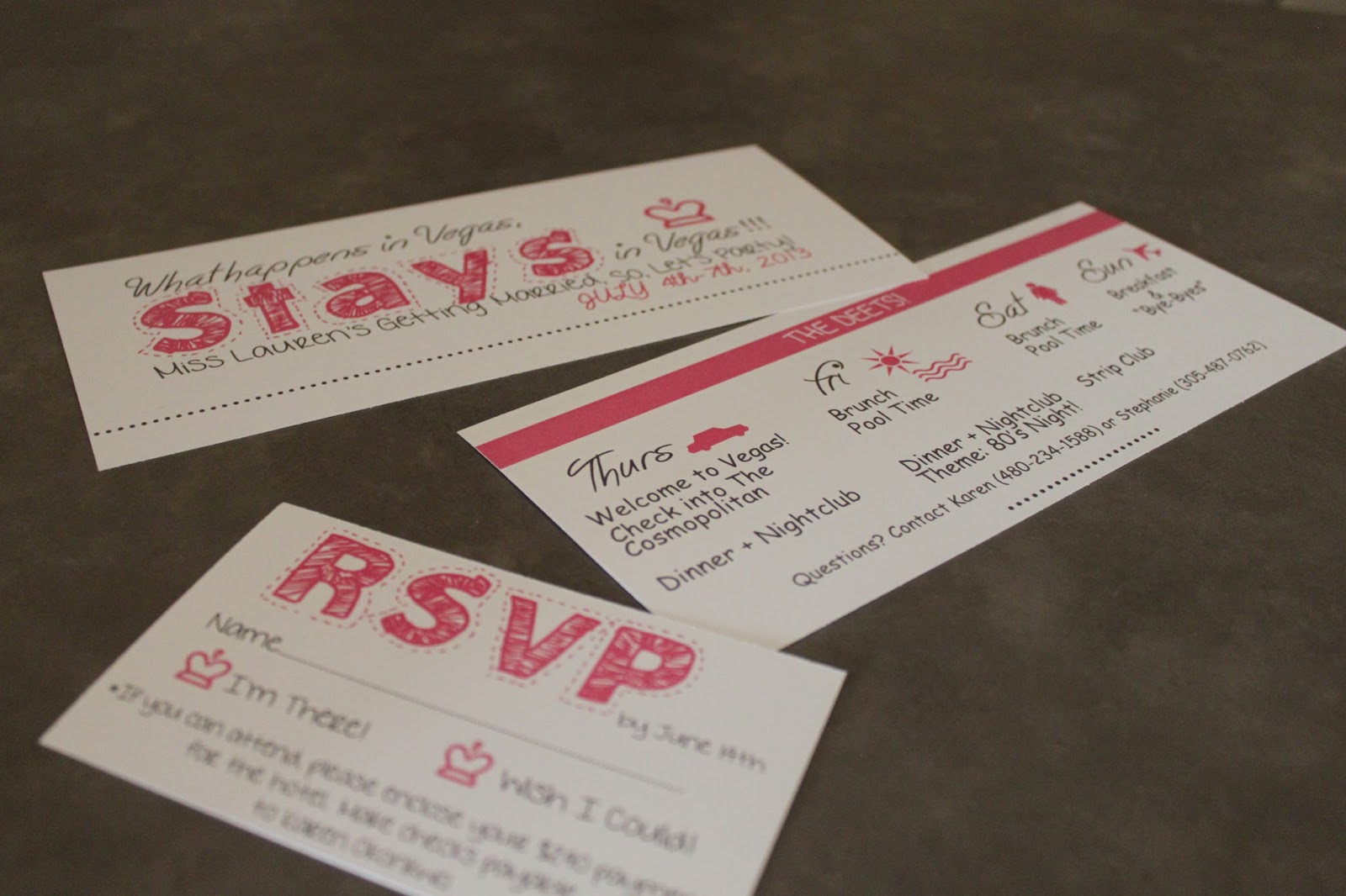 Party with a K...THE BLOG: DIY: Bachelorette Party Invites