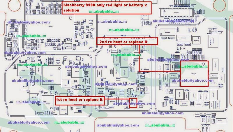 All Cellular Mobile Repairing Solution Here  Blackberry 9900 Only Red Light Battery Solution