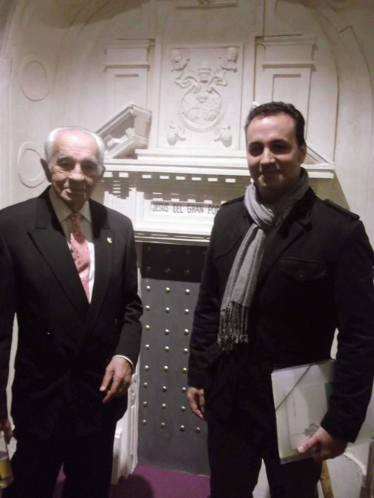 Con Manolo Garrido