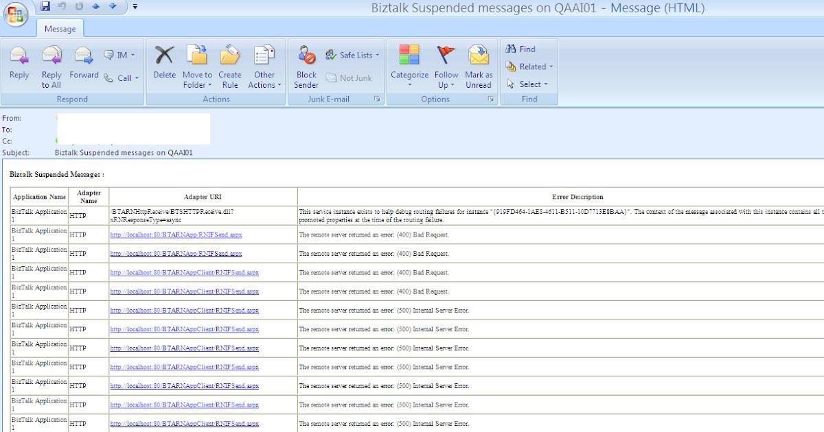 rajasekhar u0026 39 s biztalk blog  biztalk suspended messages