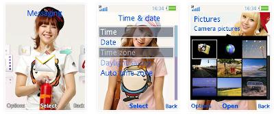 韓國女團Girl's Day SonyEricsson手機主題for Elm/Hazel/Yari/W20﹝240x320﹞