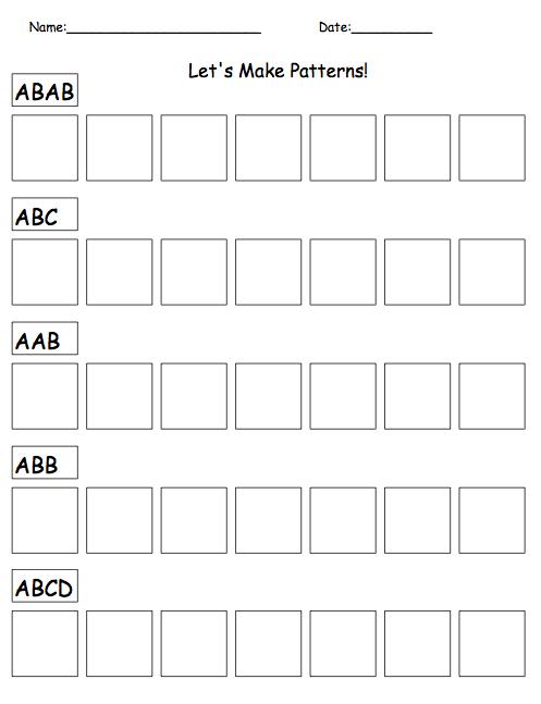 Pattern Worksheets » Number Line Pattern Worksheets - Free ...