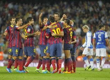Vídeo Resumen - Barça 4 vs R. Sociedad 1