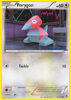 Porygon Plasma Blast Pokemon Card
