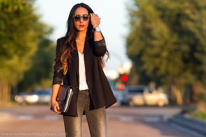 Blogger de moda de Valencia con zapatos de Isabel Marant