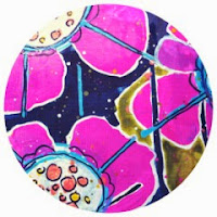 Art Journal Blog Button By Catherine Scanlon